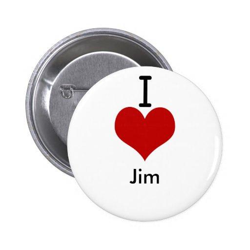 I Love (heart) Jim Buttons