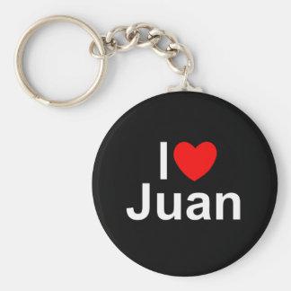 I Love (Heart) Juan Key Ring