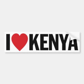 "I Love Heart Kenya 11"" 28cm Vinyl Decal"