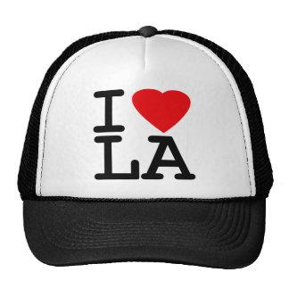 I Love Heart LA Mesh Hats