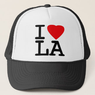 I Love Heart LA Trucker Hat
