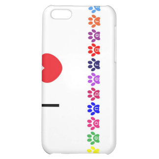 I love heart  leonbergers dog iphone 4 case