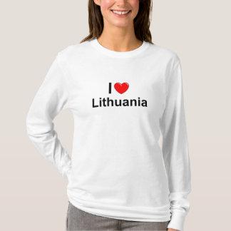 I Love Heart Lithuania T-Shirt