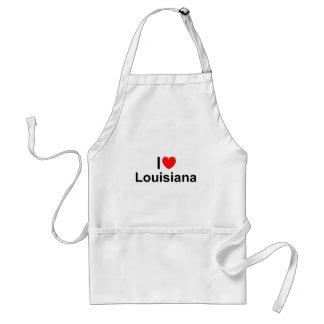 I Love (Heart) Louisiana Apron