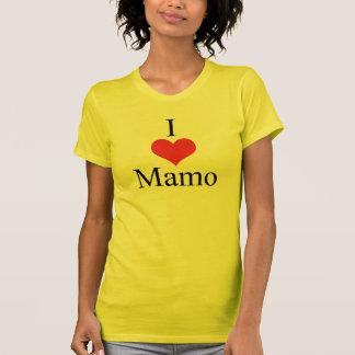 I Love (Heart) Mamo Shirts