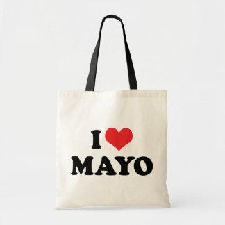 I Love Heart Mayo - Mayonnaise Lover Tote Bag