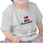 I Love (Heart) Mitt Romney Shirt