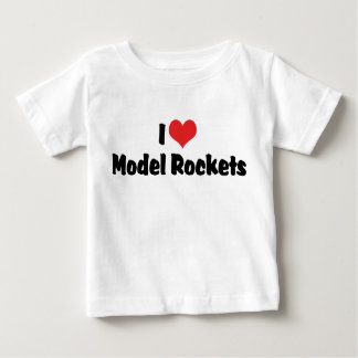I Love Heart Model Rockets - Rocketry Lover Tees