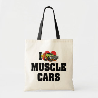 I Love Heart Muscle Cars - Muscle Car Lover