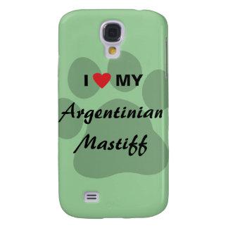 I Love (Heart) My Argentinian Mastiff Galaxy S4 Case