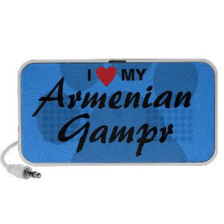 I Love (Heart) My Armenian Gampr Portable Speaker