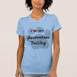 I Love (Heart) My Australian Bulldog Shirt