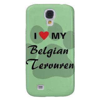 I Love (Heart) My Belgian Tervuren Galaxy S4 Case