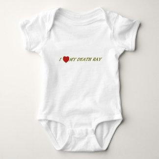 I Love (Heart) My Death Ray Baby Shirt