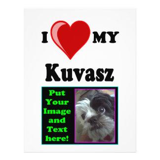 I Love (Heart) My Kuvasz Dog 21.5 Cm X 28 Cm Flyer