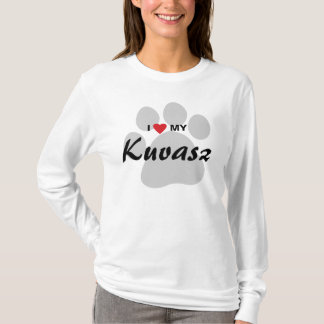 I Love (Heart) My Kuvasz Dog Lovers Shirt