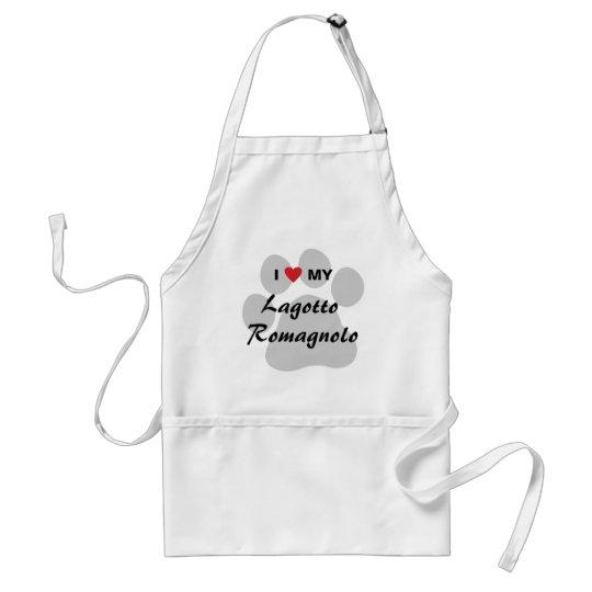 I Love (Heart) My Lagotto Romagnolo Standard Apron