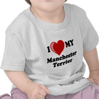 I Love (Heart) My Manchester Dog T-shirt