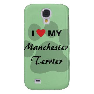 I Love (Heart) My Manchester Terrier Galaxy S4 Case
