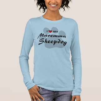 I Love (Heart) My Maremma Sheepdog Lovers Shirt