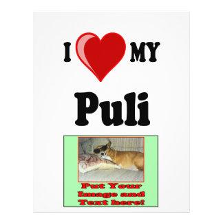 I Love Heart My Puli Dog Flyer