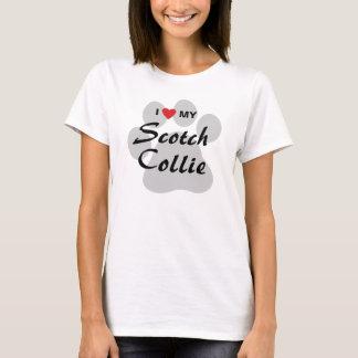 I Love (Heart) My Scotch Collie T-Shirt