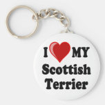 I Love (Heart) My Scottish Terrier Dog Gifts