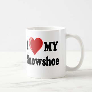 I Love (Heart) My Snowshoe Cat Coffee Mug