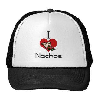 I love-heart nacho trucker hat
