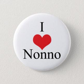 I Love (Heart) Nonno 6 Cm Round Badge