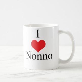 I Love (Heart) Nonno Coffee Mug