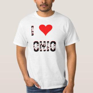 I Love  (Heart) Ohio T-Shirt