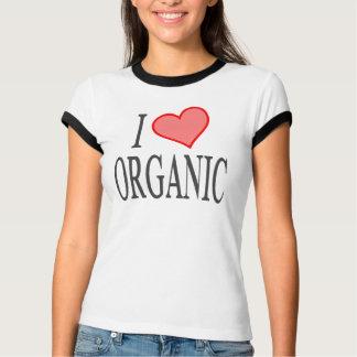 I Love (Heart) Organic T-Shirt