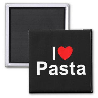 I Love (Heart) Pasta Refrigerator Magnet
