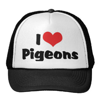I Love Heart Pigeons - Bird Lover Cap