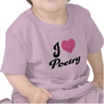 I Love (Heart) Poetry T-shirt