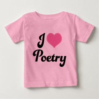 I Love (Heart) Poetry Tees
