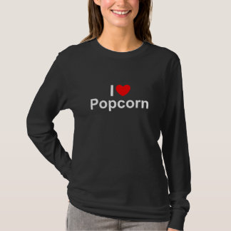 I Love (Heart) Popcorn T-Shirt