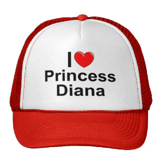 I Love (Heart) Princess Diana Cap