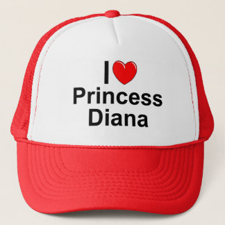 I Love (Heart) Princess Diana Trucker Hat