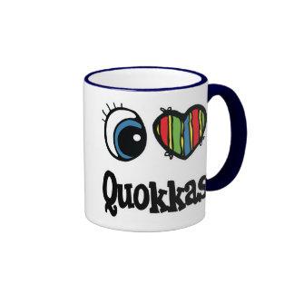 I Love Heart Quokkas Mugs