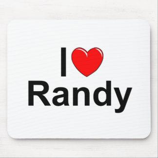 I Love (Heart) Randy Mouse Pad