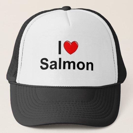 I Love (Heart) Salmon Cap