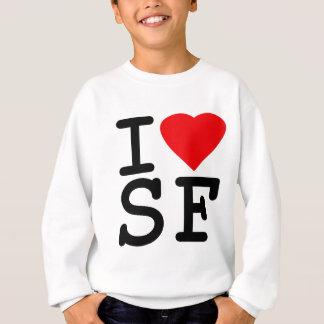 I Love Heart San Francisco Sweatshirt