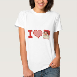 I love (heart) Santa T Shirt