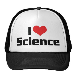 I Love Heart Science Cap