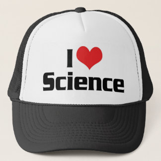 I Love Heart Science Trucker Hat