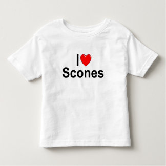 I Love (Heart) Scones Toddler T-Shirt