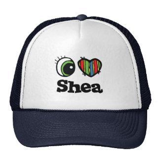 I Love Heart Shea Mesh Hat