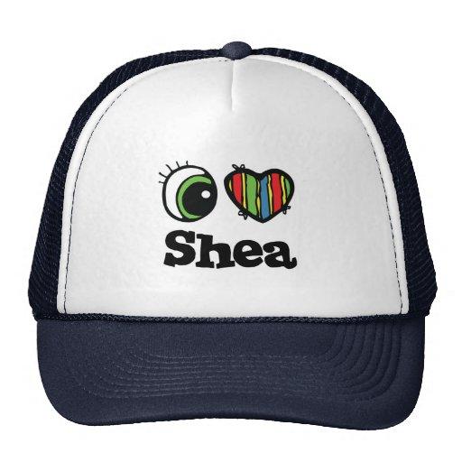 I Love (Heart) Shea Mesh Hat